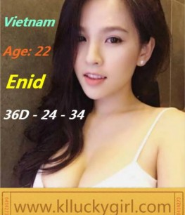 KL escort girl Enid